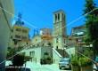 Ο Ιερός Ναός της Αγίας Τριάδας δίπλα στο Δημαρχείο Καρπενησίου