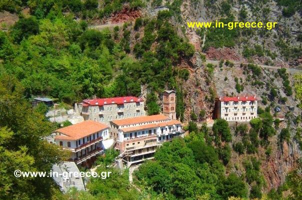 Ιερά Μονή Προυσού - Monastery of Prouso