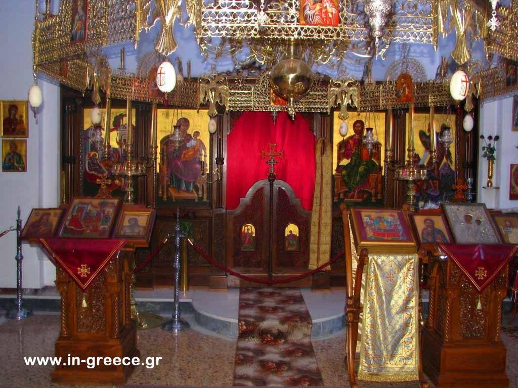 Το ξυλόγλυπτο προσκυνητάρι της Μονής Τατάρνας