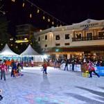 Πάρτι στο Παγοδρόμιο του Δήμου Καρπενησίου