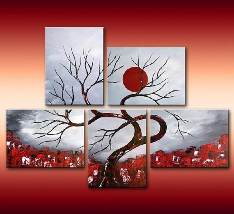 Πίνακες ζωγραφικής μοντέρνοι, Έργα τέχνης